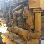 Exhaust View CAT 3512