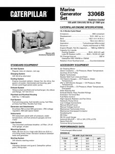 CAT 3306 Engine General Specification