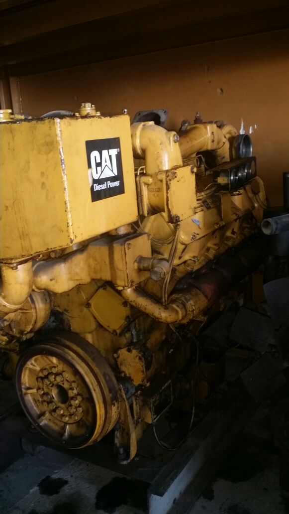 cat  marine engine specification thin web crankshaft